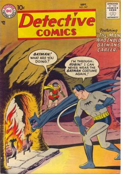 Cover for Detective Comics (1937 series) #247