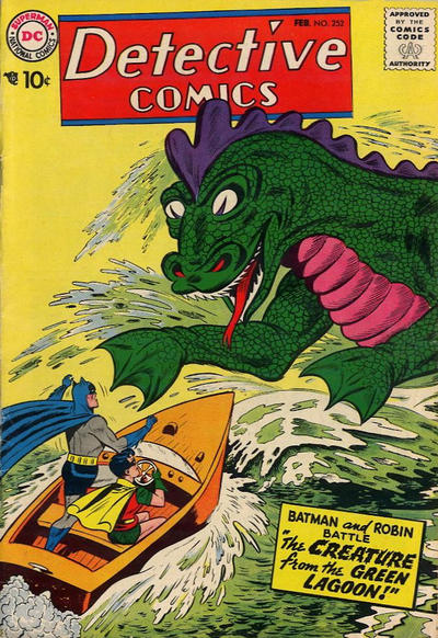 Cover for Detective Comics (1937 series) #252