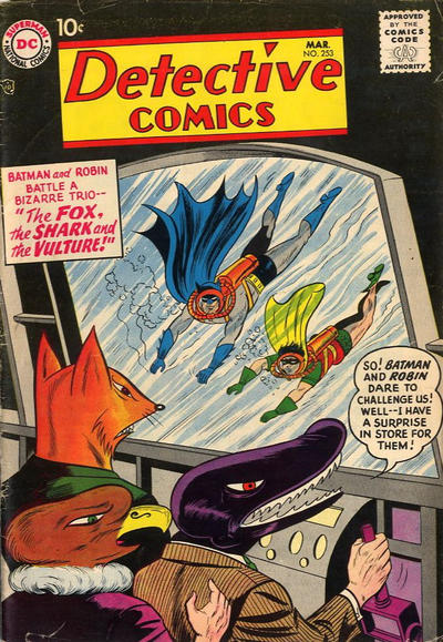 Cover for Detective Comics (1937 series) #253