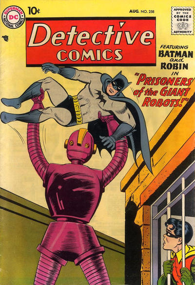 Cover for Detective Comics (1937 series) #258