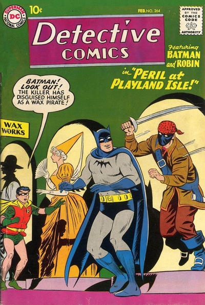 Cover for Detective Comics (DC, 1937 series) #264