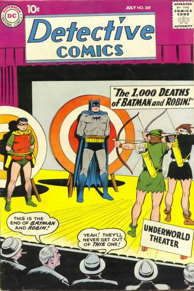 Cover for Detective Comics (DC, 1937 series) #269