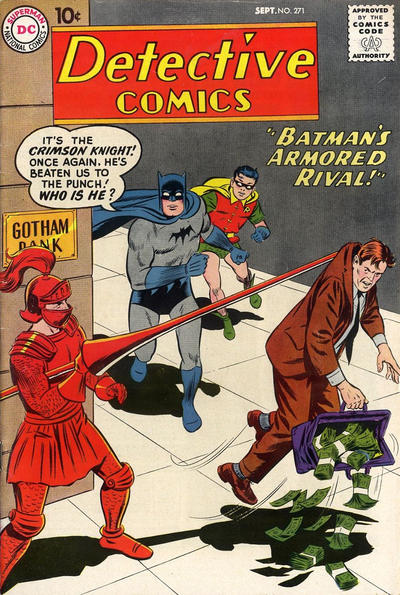 Cover for Detective Comics (1937 series) #271