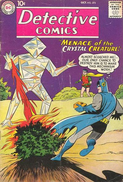 Cover for Detective Comics (1937 series) #272