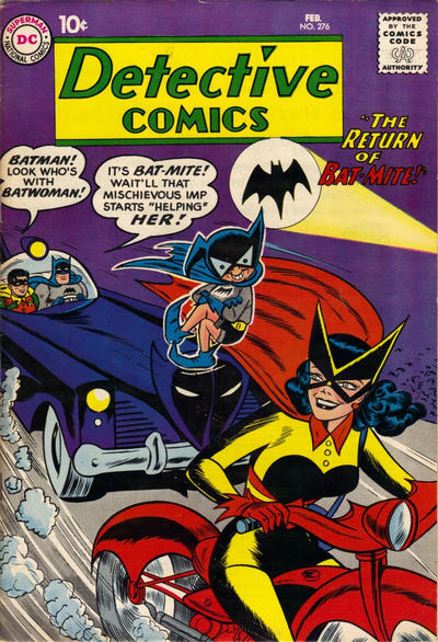 Cover for Detective Comics (DC, 1937 series) #276