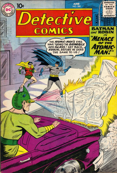 Cover for Detective Comics (1937 series) #280