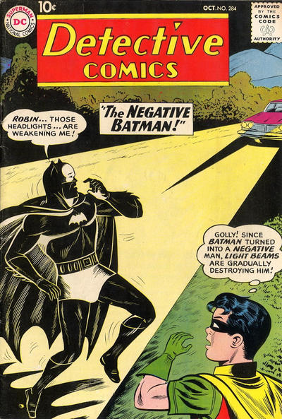 Cover for Detective Comics (DC, 1937 series) #284