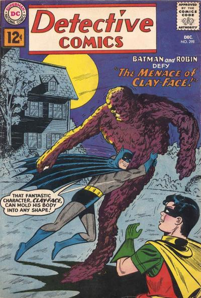 Cover for Detective Comics (1937 series) #298