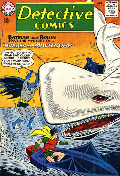 Cover for Detective Comics (DC, 1937 series) #314