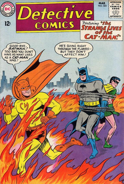 Cover for Detective Comics (DC, 1937 series) #325
