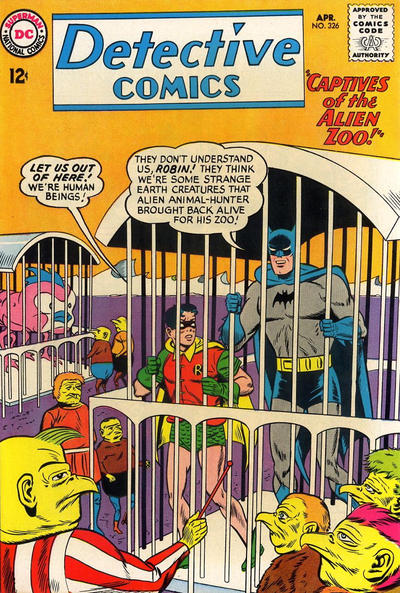 Cover for Detective Comics (1937 series) #326