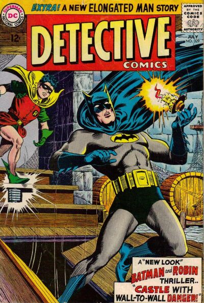 Cover for Detective Comics (1937 series) #329