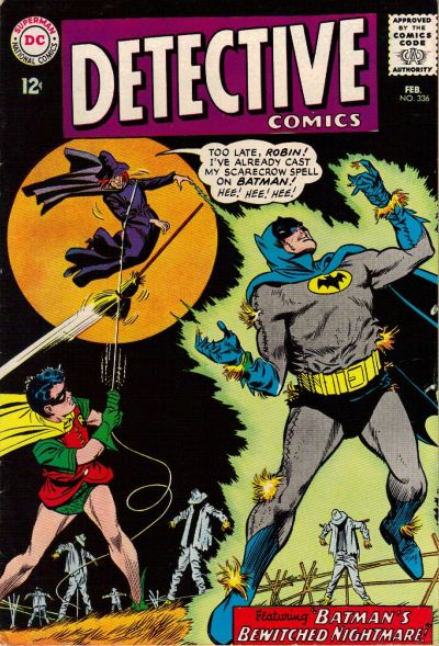 Cover for Detective Comics (1937 series) #336