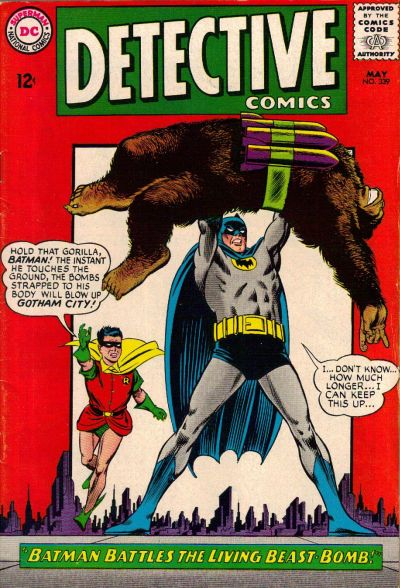 Cover for Detective Comics (1937 series) #339