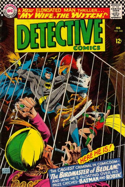 Cover for Detective Comics (DC, 1937 series) #348