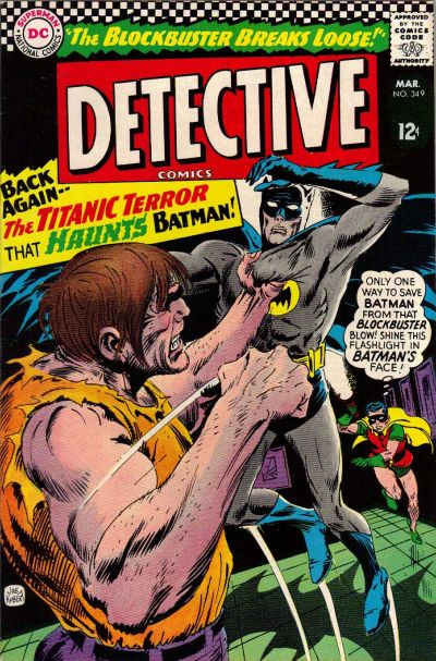 Cover for Detective Comics (1937 series) #349