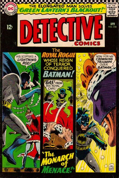Cover for Detective Comics (1937 series) #350