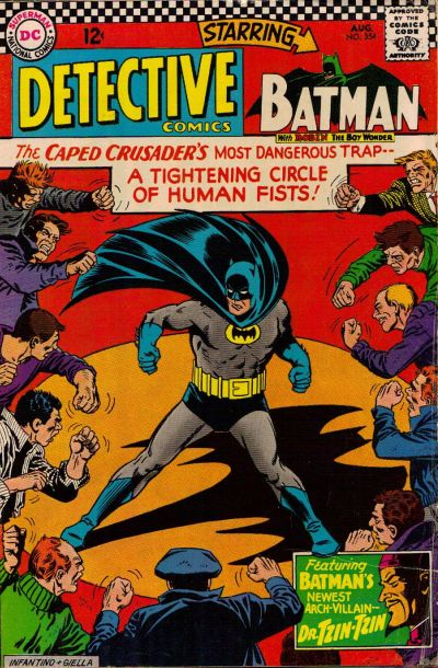 Cover for Detective Comics (1937 series) #354