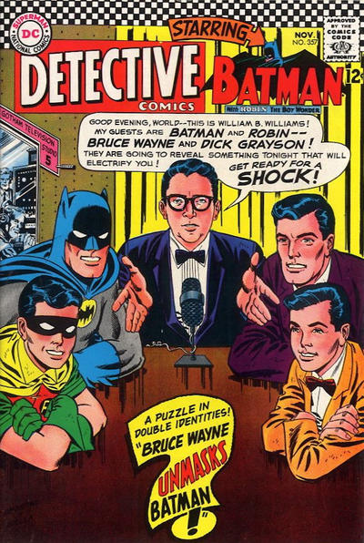 Cover for Detective Comics (1937 series) #357
