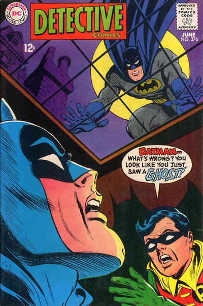 Cover for Detective Comics (1937 series) #376