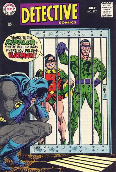 Cover for Detective Comics (1937 series) #377