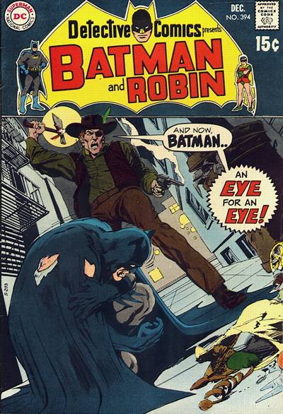 Cover for Detective Comics (1937 series) #394