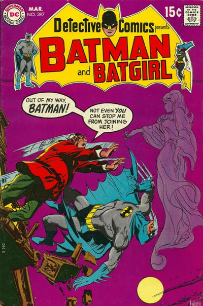 Cover for Detective Comics (1937 series) #397
