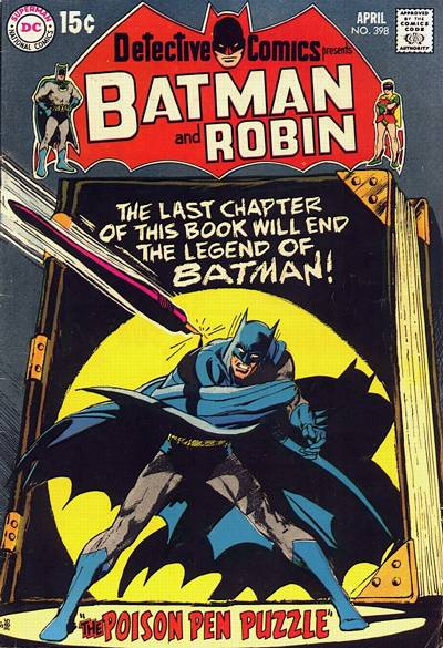 Cover for Detective Comics (1937 series) #398
