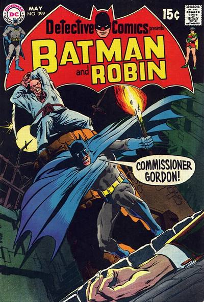 Cover for Detective Comics (1937 series) #399
