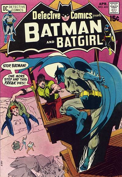 Cover for Detective Comics (1937 series) #410