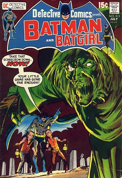 Cover for Detective Comics (1937 series) #413
