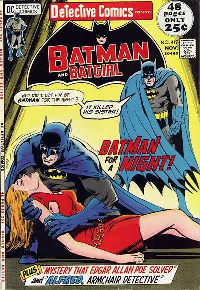 Cover for Detective Comics (1937 series) #417