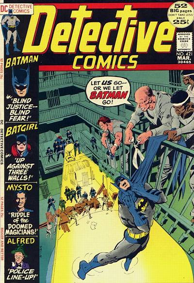 Cover for Detective Comics (1937 series) #421