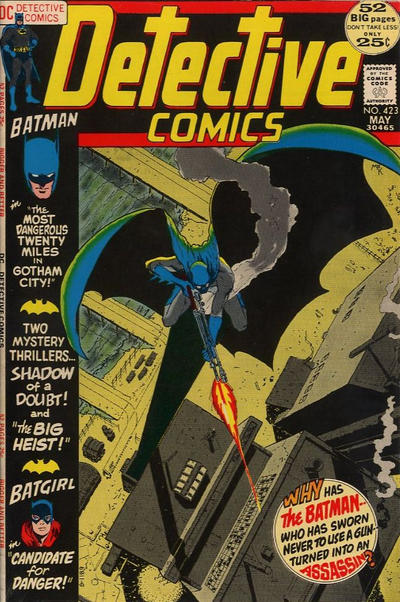 Cover for Detective Comics (DC, 1937 series) #423