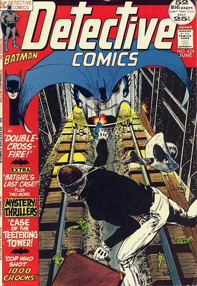 Cover for Detective Comics (1937 series) #424