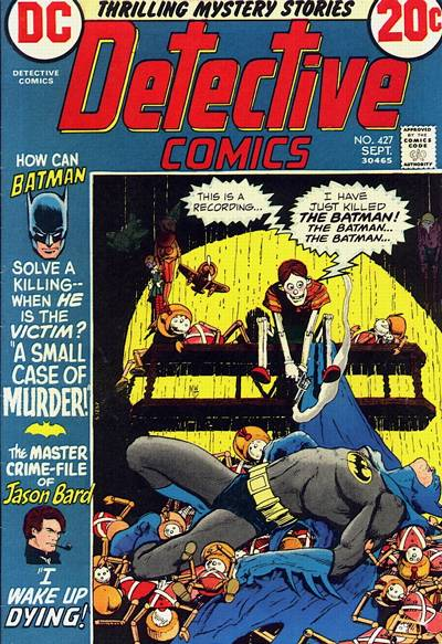 Cover for Detective Comics (DC, 1937 series) #427