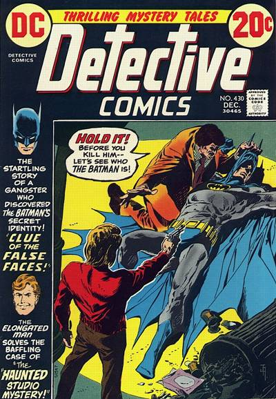 Cover for Detective Comics (DC, 1937 series) #430