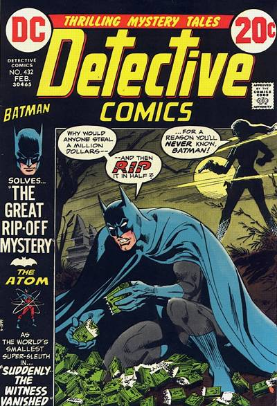 Cover for Detective Comics (1937 series) #432