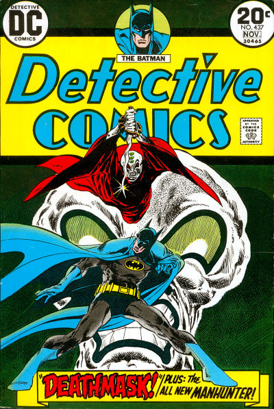 Cover for Detective Comics (DC, 1937 series) #437
