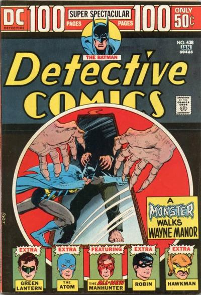 Cover for Detective Comics (1937 series) #438