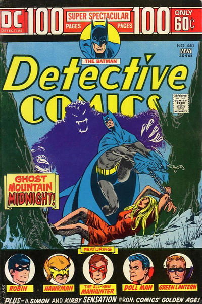 Cover for Detective Comics (DC, 1937 series) #440