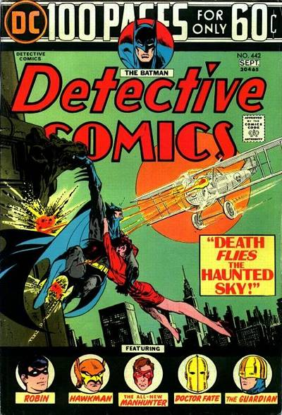 Cover for Detective Comics (1937 series) #442