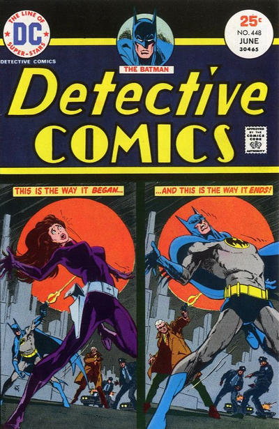 Cover for Detective Comics (1937 series) #448