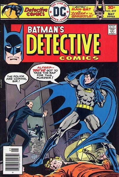 Cover for Detective Comics (DC, 1937 series) #459