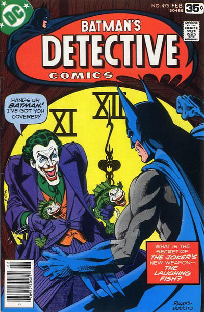 Cover for Detective Comics (DC, 1937 series) #475