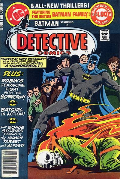 Cover for Detective Comics (1937 series) #486