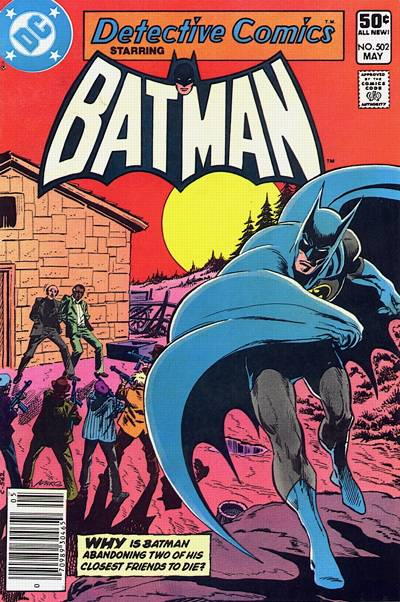 Cover for Detective Comics (DC, 1937 series) #502 [Newsstand]
