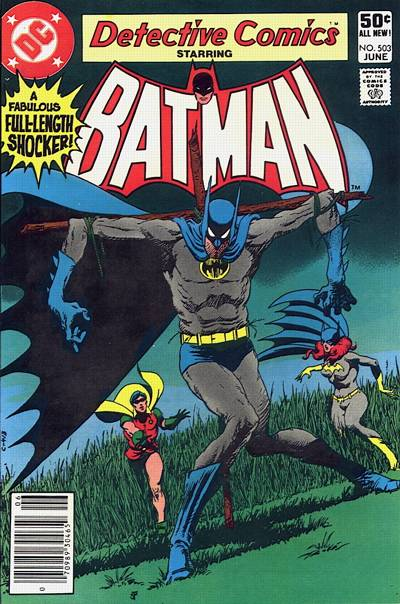 Cover for Detective Comics (DC, 1937 series) #503 [Newsstand]