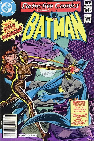 Cover for Detective Comics (DC, 1937 series) #506
