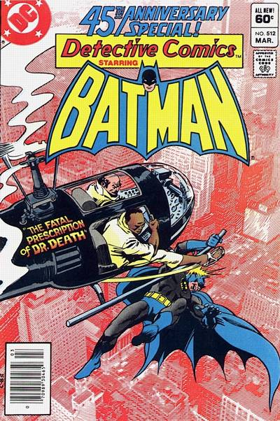 Cover for Detective Comics (DC, 1937 series) #512 [Newsstand]